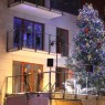 Great illumination of the Christmas tree on NIGHTINGALE HILL Project