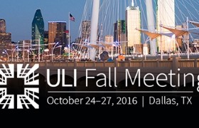 DALLAS – MEETING OF GLOBAL REAL ESTATE LEADERS – 24-27 October, 2016