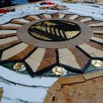 Mozaika w projekcie Art Deco – prace trwają.