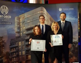 Terra Casa with Builder's Company of the Year 2018 Award