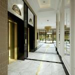 Art Deco Mokotów lobby2